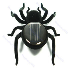 Creative Educational Solar Energy Powered Spider Robot Toy Gadget For Kids
