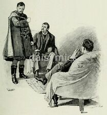 Sherlock holmes the strand magazine 1891, imprimé 5x5 pouces réimpression