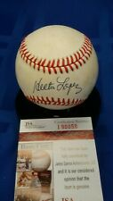 Hector Lopez autographed AL Brown baseball. JSA authenticated.