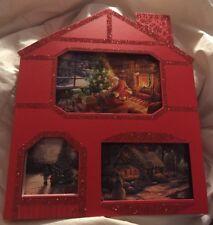 Thomas Kinkade Hallmark Painted Of Light 24 Christmas Card