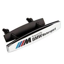 Quality 3D Auto Car Grille Grilles Badge Emblems For chrome M POWER sports NEW