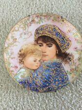 Edna Hibel Mother's Day Plate For 1987-Knowles Collection-Pre-owned-Exce llent