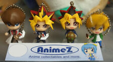 Official Yu-Gi-Oh! figure mascot keychains set of 4 Yugi Kaiba Joey....UK SELLER