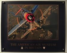 The American Air Museum Britain Poster Print 20X16 Republic P-47D ~ Boeing B-17G