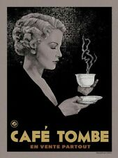 """Timothy Pittides - Coffee  - 18"""" x 24"""" Screen Print (Vices)"""