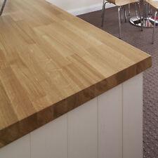 Solid Prime Oak Hardwood Worktops 2000mm X 620mm X 40mm