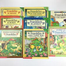 Franklin Story The Turtle Books Lot Of 8 Paperback Franklin Reading Books