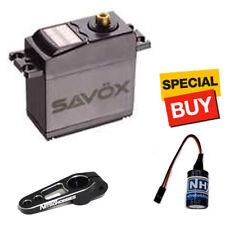 Savox Standard HT Metal Gear Digital Servo w/ Black Alum Horn / Glitch Buster
