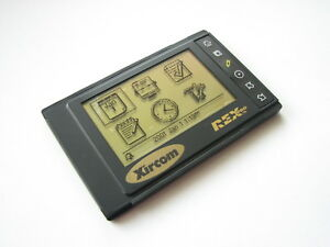 NIB Credit-card sized Vintage Xircom REX PC-Companion Electronic Organizer PDA