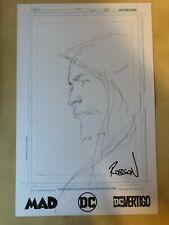DC Comics ROBSON ROCHA Aquaman Hand Sketch NYCC 2019