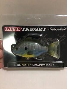 Live Target Swimbaiy Series Sunfish Natural Bluegill New
