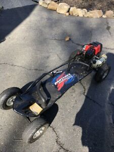 skateboard gas powered 37cc 4 stroke gas Razx1 Brand New Assembled  Tested