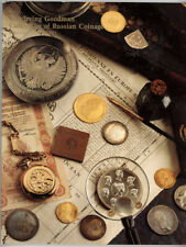 Irving Goodman Russian Gold Silver Bronze Coin Collection Auction Sale Catalog