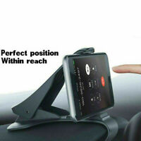 Adjustable Universal Antiskid Car Phone Holder Clip HUD Des Dashboard Mount T7R0