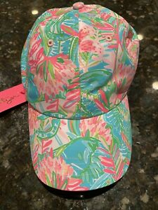 Lilly Pulitzer Run Around Hat NWT Lilly of the Jungle
