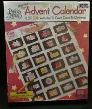 Precious Moments Make Your Own Advent Calendar w/24 Activities Christmas New