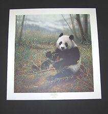 "Charles Frace S/N print ""Chinese Treasure"" Panda Bear"