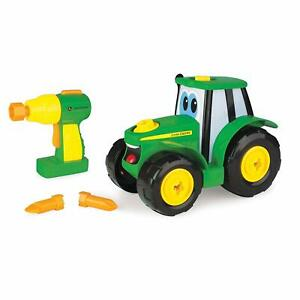 NEW John Deere Build-A-Johnny Tractor, 16 Pieces, Ages 18M+   LP67346