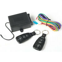 UNIVERSAL KEYLESS ENTRY SYSTEM REMOTE CONTROL CENTRAL DOOR LOCKING CAR KIT NEW