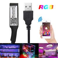 Smart RGB bluetooth USB LED Remote Controller for 3528 5050 RGB Light Strips