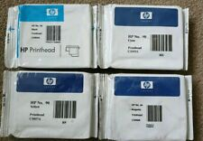 Genuine HP 90 set of 4 Printheads Cartridges C5054A/55A/56A/57A - VAT inc