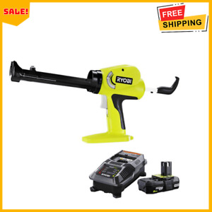 ONE+ 18V Power Caulk and Adhesive Gun with 2.0 Ah Battery and Charger Kit