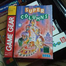 Super Columns (1995) Brand New Factory Boxed Japan Sega Game Gear Import