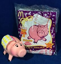 2 Toy Story HAMM CANDY DISPENSERS - McDonald's Happy Meal Toys 1999 - 1 NEW