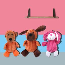 Dog Puppy Plush Chew Squeaker Squeaky Training Pet Toys Molar Supplies DP