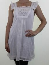 Zara Cotton Patternless Regular Size Dresses for Women