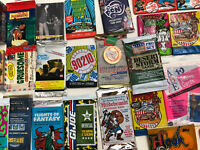 Vintage Unopened Non-Sport Wax Foil ODDBALL Packs +7 pack LOTS W- FREE SHIPPING