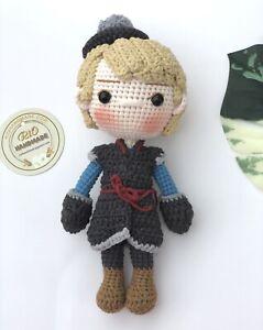 Amigurumi Kristof doll,Crochet Kristof doll,handmade dolls,handmade Kristof