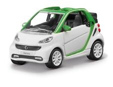origi Norev for smart Model car Cabriolet Electric Drive 2 1/8in white/green