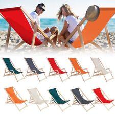 Strandliege Holz Liegestuhl Gartenliege Sonnenliege Strandstuhl Faltliege