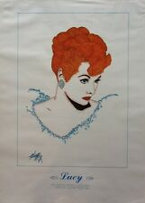 """LUCILLE BALL POSTER - """"THE LEGENDS"""""""