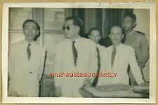 Indochina Picture 1951 Thủ Hiến Nam Việt at Nha Thông Tin Nam Việt