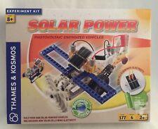 Thames & Kosmos Solar Power NEW Photovoltaic Energized Vehicles Experiment Kit