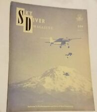 Vintage March 1961 Sky Diver Magazine Collectable
