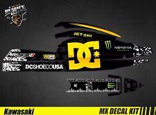 Kit Déco pour / Decal Kit for Jet Ski Kawasaki 750 Sx Sxr Sxi - DC