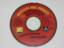 New listing Nikon Cd Watch Me First Coolpix Camera NikonView 6 Version 1 98 Se,2000,Xp,Mac