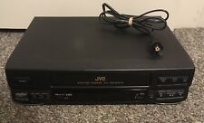 JVC HR-VP636U Hi-Fi 4- Head VCR VHS Video Cassette Recorder Player - Ships Free!