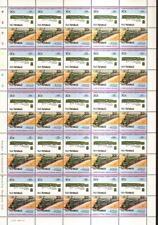 1943 Class 520 SteamRanger South Australia Train 50-Stamp Sheet / LOCO 100 LOTW