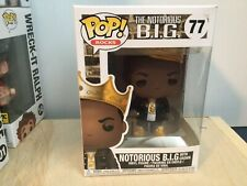 Funko Pop Vinyl Notorious B.I.G. With Crown Figure C9+ Hall Of Fame