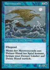 Meeressceada / Sea Drake | EX | Portal Second Age | GER | Magic MTG