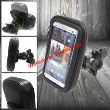 Rainproof Bicycle Bike Mount Holder Case for HTC ONE M7 ONE 2 M8 ONE MAX T6