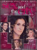 Sex and the City: The Sixth Season - Part 2 (DVD, 2008, 3-Disc Set)