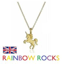 Life is Magical Gold Unicorn Necklace Fantasy Wish Jewellery Dogeared Style