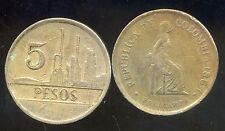 COLOMBIE 5 pesos 1981