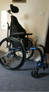 Wheelchair Ti-light Aero Z with power assisted Alber M 15 Wheels and ordinary