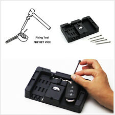 Black Vehicles Door Flip Key Vice Fixing Pin Remove Tool Installation Repair Kit
